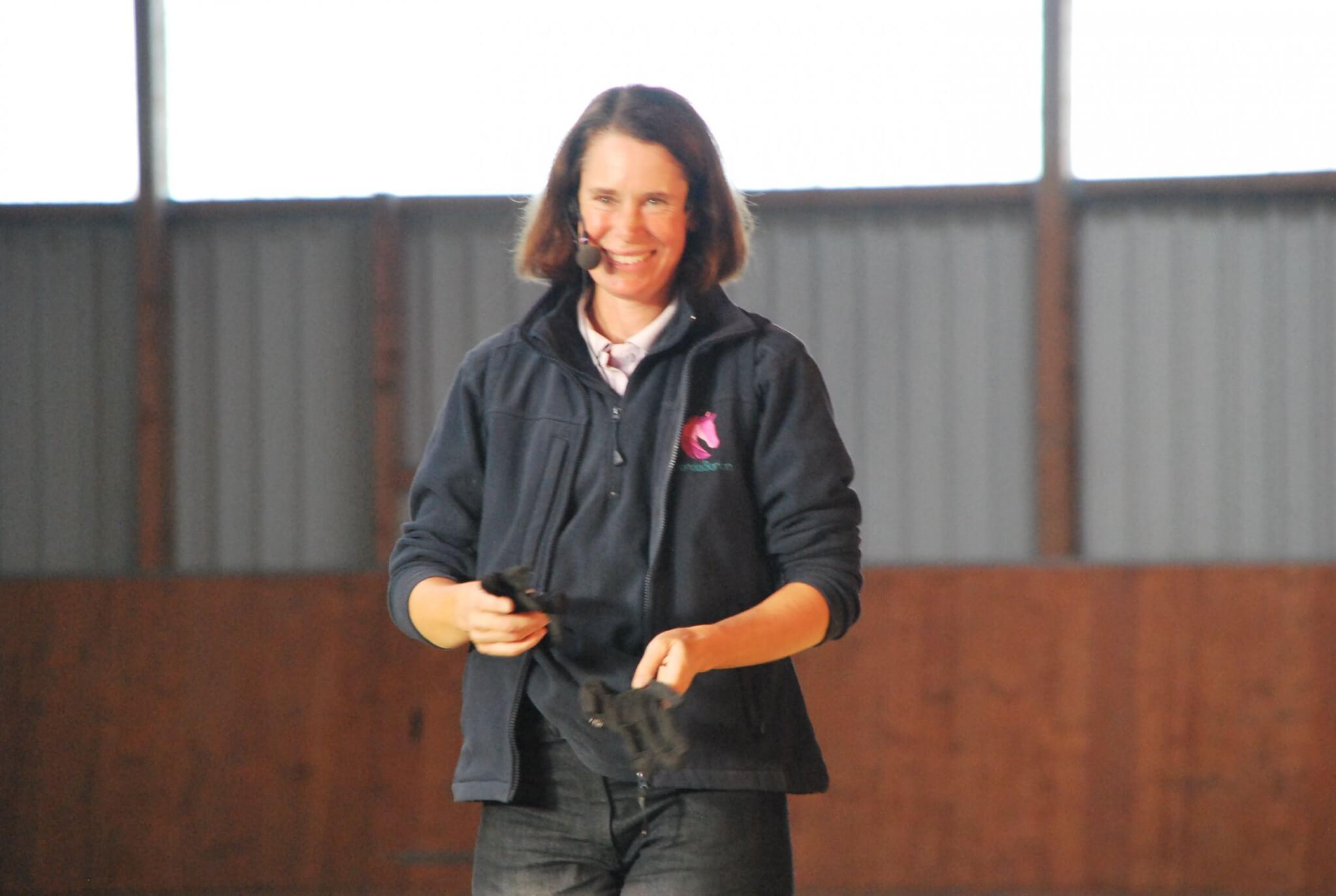 Horsemanship nach Mark Rashid: Auch 2015 wieder zwei Termine mit Amanda Barton in Brunsbüttel
